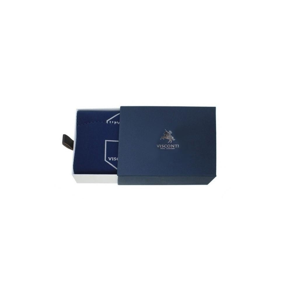 Visconti Alps ALP 87 peněženka pánská 9,5 x 12,5 cm  černá RFID