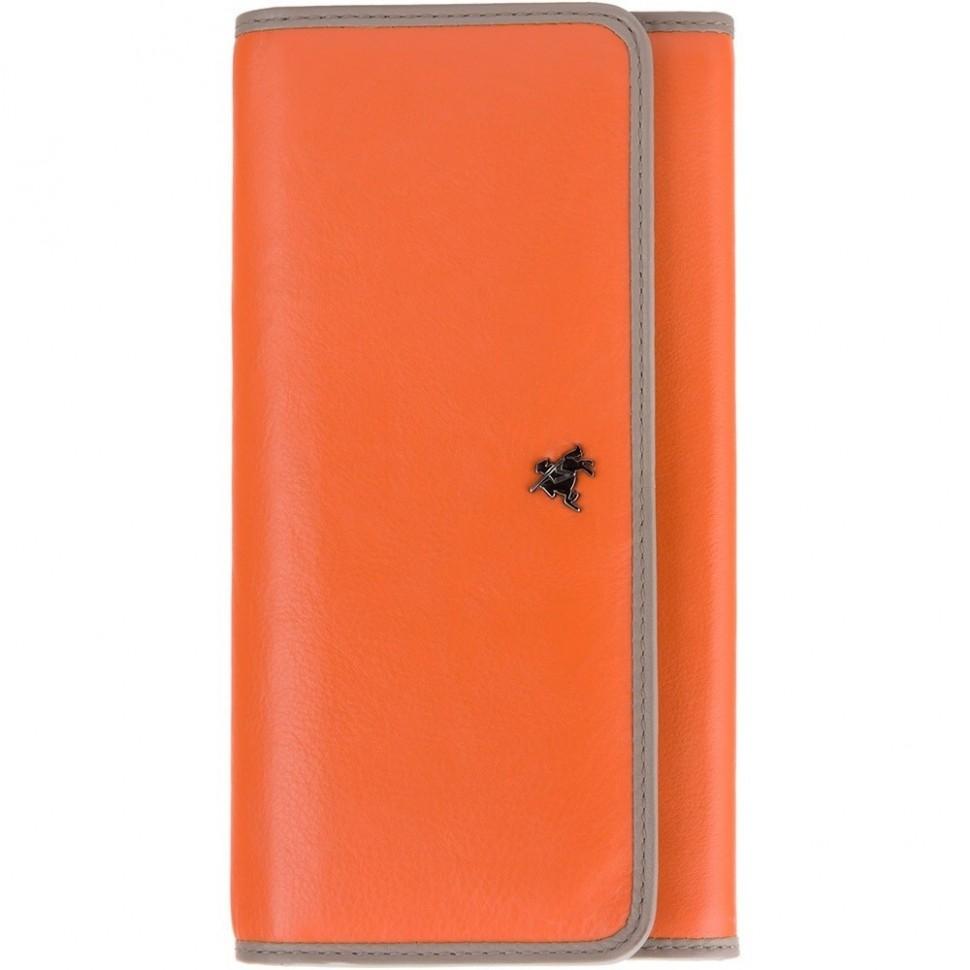 Visconti Rhodes RD92 Finch dámská kožená peněženka oranžová / taupe