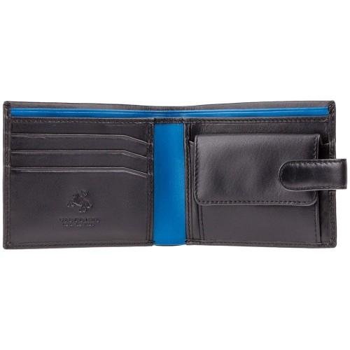 Visconti pánska kožená peňaženka s uzatváraním a RFID