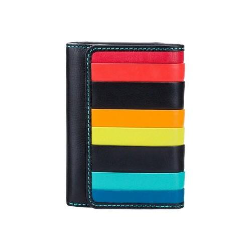 Visconti menšia dievčenská pruhovaná kožená peňaženka s RFID
