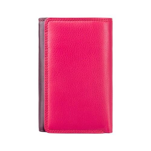 Visconti slivková rozkladacia kožená peňaženka