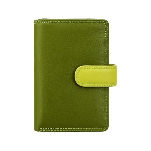 Visconti střední dámská kožená peněženka s RFID zelená