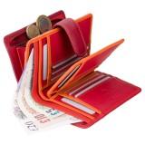Visconti dámská kožená peněženka RAINBOW RB51 červená