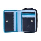 Visconti malá modrá dievčenské peňaženka ochrana RFID