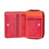 Visconti RAINBOW RB53 HAWAII dámská kožená peněženka červená