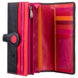 Visconti POLKA P2 NEPTUN peněženka dámská velká puntíky červenooranžové