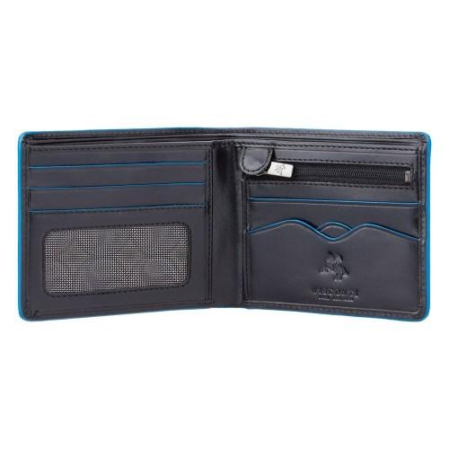Visconti hladká pánska peňaženka ochrana RFID