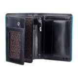 Visconti Alps ALP 87 peněženka pánská 9,5 x 12 cm  černá RFID