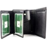 Visconti pánská kožená peněženka tmavě hnědá BRIXTON