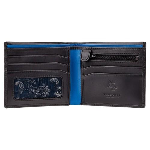 Visconti pánska farebná kožená peňaženka