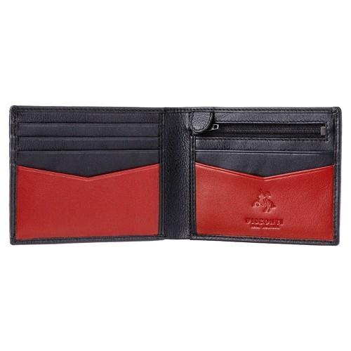 Visconti Slim pánska kožená peňaženka RFID