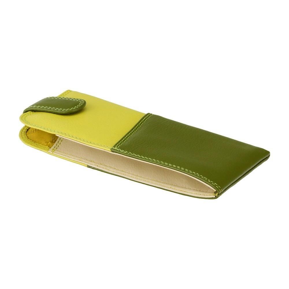 9ce8ea51f zelené kožené puzdro na okuliare | MANIEGO
