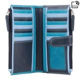 Visconti RAINBOW RB100 BERMUDA dámská kožená peněženka modrá