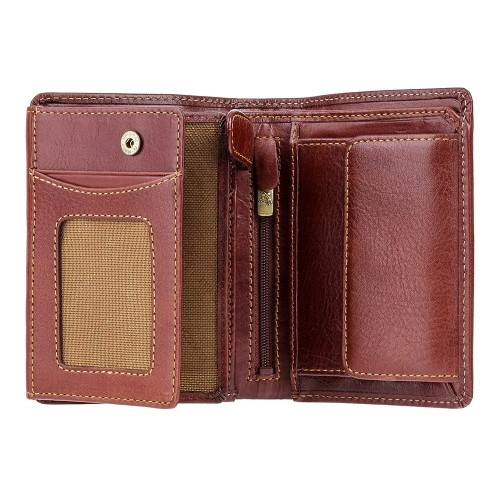Visconti pánska kožená peňaženka s RFID tienením