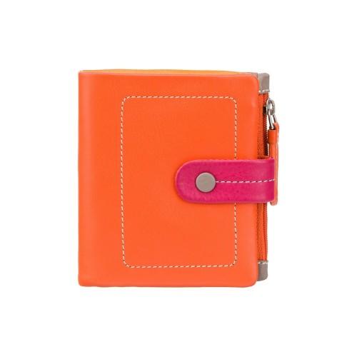 Visconti malá dívčí peněženka oranžová a červená