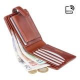 Visconti klasická pánska kožená peňaženka s RFID TSC47