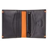 Visconti ALPINE AP 61 pánská kožená peněženka černá s RFID