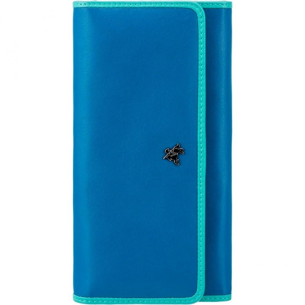 Visconti Rhodes RD92 Finch dámská kožená peněženka modrá/tyrkysová