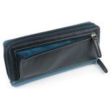 Visconti dámská kožená peněženka RAINBOW RB55 modrá