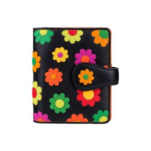 Visconti dievčenská peňaženka s kvietkami a RFID