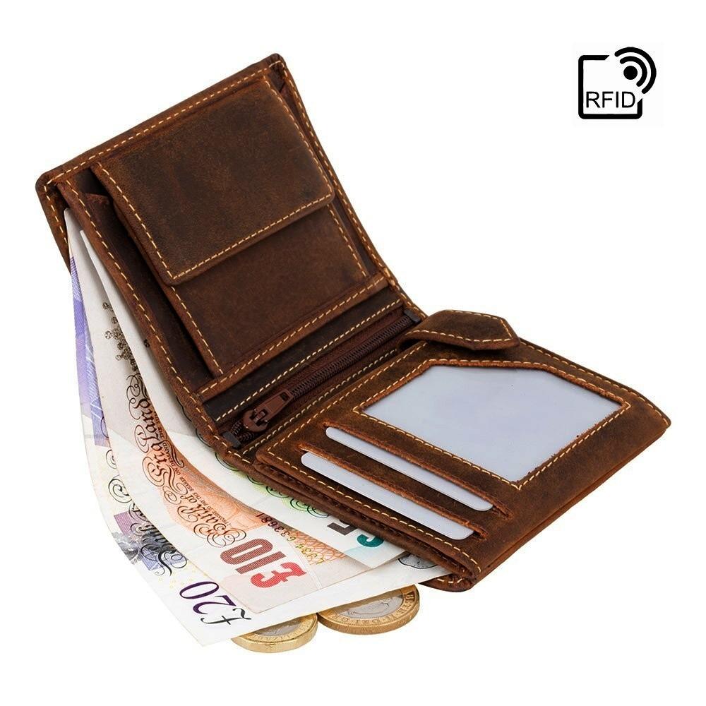 5b3fa2c5c Visconti Hunters menšie pánska peňaženka z prírodnej kože | MANIEGO
