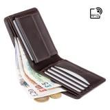 Visconti ALPINE AP 62 pánská kožená peněženka střední černá