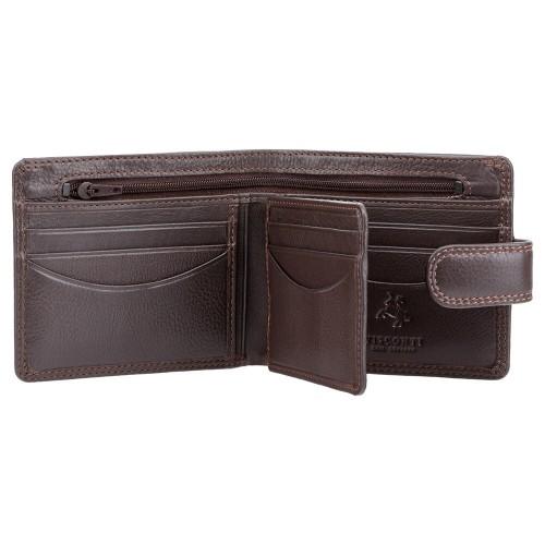 Visconti klasická pánska peňaženka so zipsom