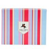 Visconti pouzdro na karty RAINBOW odstíny švestkové