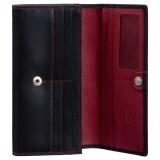 Visconti klasická dámská červená kožená peněženka