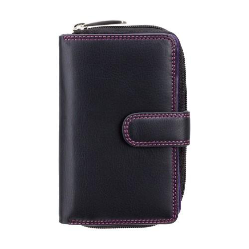 Visconti dámska kožená viacfarebná peňaženka na veľa kariet