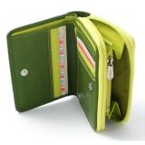 Visconti dámská kožená peněženka RAINBOW RB53 zelená