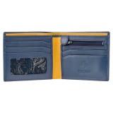 Visconti pánská šedá kožená peněženka s RFID