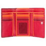 Visconti RAINBOW RB43 BORA dámská kožená peněženka červená