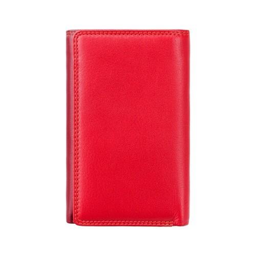 Visconti červená rozkladacia kožená peňaženka s RFID
