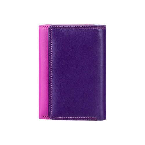 Visconti menšie ružová rozkladacia peňaženka s RFID