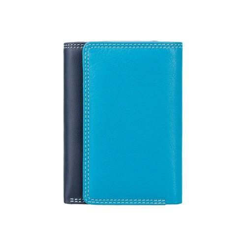 Visconti menšie modrá rozkladacia peňaženka s RFID