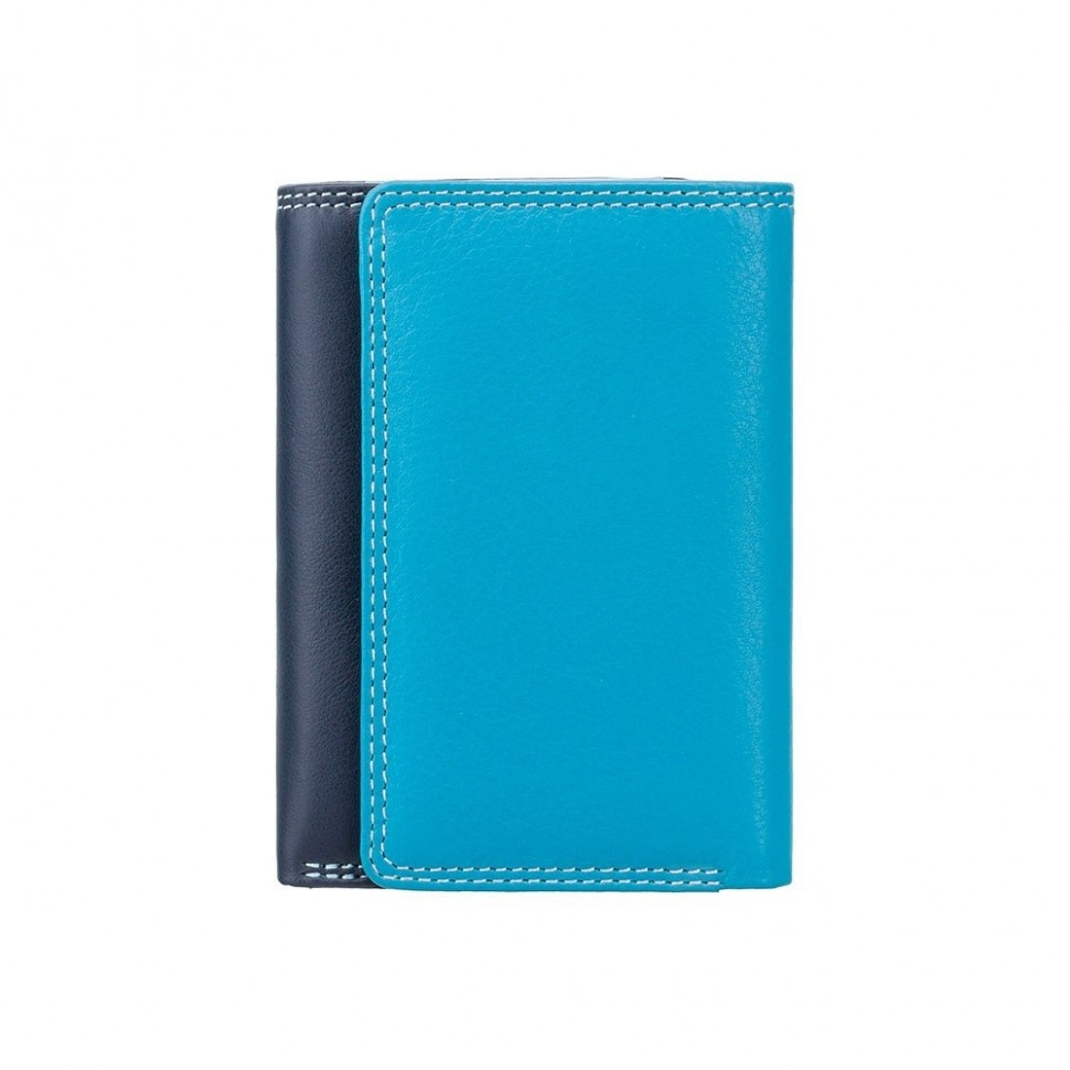 Visconti menší modrá rozkládací peněženka s RFID
