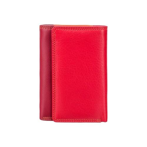 Visconti menšia červená rozkladacia peňaženka s RFID