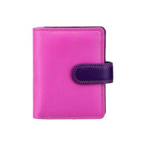 Visconti dívčí kožená peněženka s RFID růžová