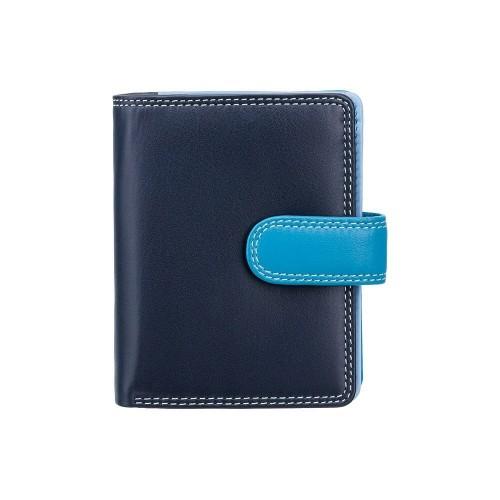 Visconti dívčí kožená peněženka s RFID modrá