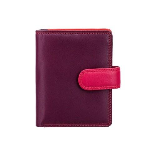 Visconti dievčenská kožená peňaženka s RFID fialová