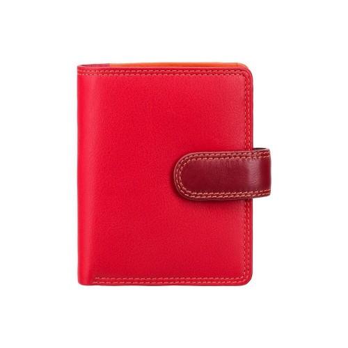 Visconti dievčenská kožená peňaženka s RFID červená