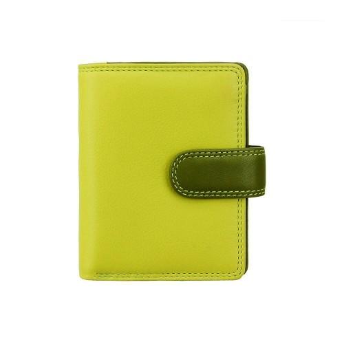 Visconti dívčí kožená peněženka s RFID zelená