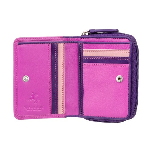 Visconti malá ružová dievčenské peňaženka ochrana RFID