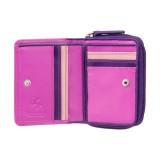 Visconti malá ružová dievčenská peňaženka ochrana RFID