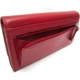 Visconti dámská kožená peněženka červená HT