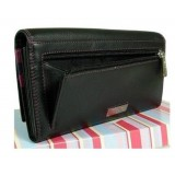 Visconti dámská kožená peněženka černá RIO