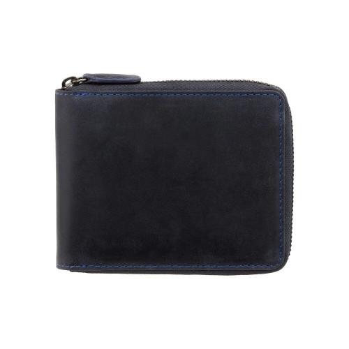 Visconti kožená peňaženka z prírodnej kože na zip s funkcioi Tap & GoVisconti pánská kožená peněženka z brúsenej kože