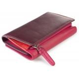 Visconti RAINBOW RB43 BORA dámská kožená peněženka švestková