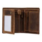 Visconti pánská peněženka z přírodní kůže  s patinou